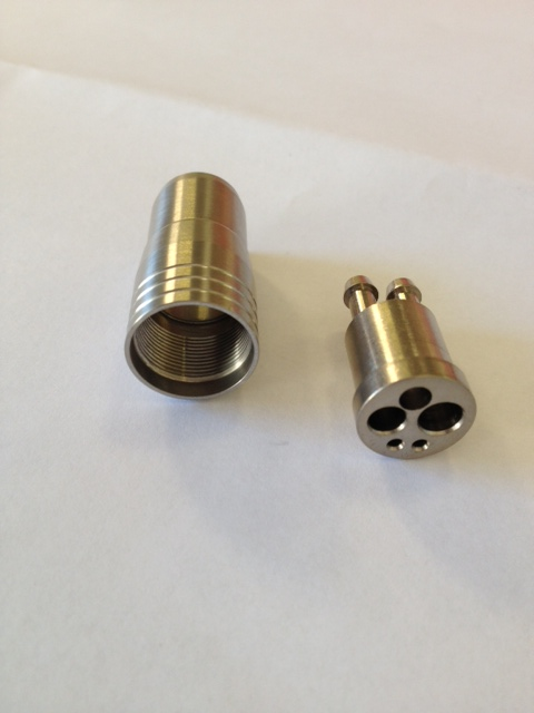DRX3029 4-Hole Midwest Connector & Nut ( Metal ) Ref 120T Image