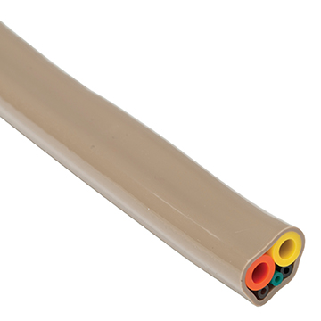 DRX2100 Sheathed Asepsis 5 Hole Foot Control Tubing (A-Dec Type) - Colour Dark Surf Ref 653 Image