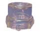 DRX4037 Short Clear Bowl for Cuspidor Vacuum Drain Valve - Vacuum Drain 1 3/8 Long Bowl Ref 9617 Image