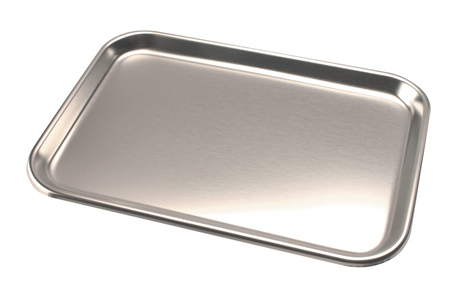 DRX11022 Stainless Steel Trays 9 3/4 X 13 1/2 Ref 8013 Image