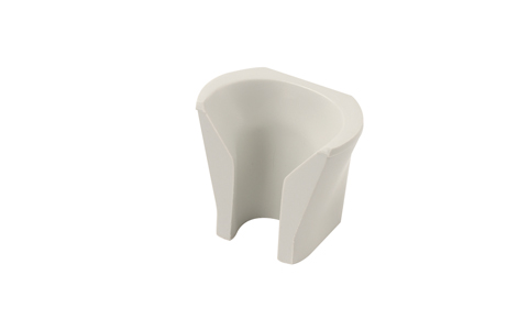 DRX11015 Handpiece Holder - Moulded Nylon Bell Mouth - Holder Replacement, Standard, Grey Ref 5962 Image