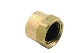 DRX6010 3/8 Poly Nut W/ Plastic Sleeve ( Pack of 5) Ref 0020 Image