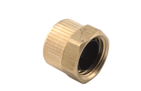 DRX6011 1/4 Poly Nut W/ Plastic Sleeve ( Pack of 5) Ref 0021 Image